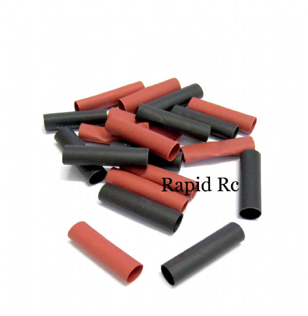 Heat shrink 6mm 10 red and x 10 black